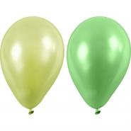 Ballonger gröna nyanser 23cm 10st 20kr