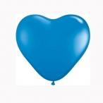 Ballonger 20st 15cm heart dark blue 29kr