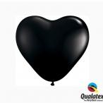 Ballonger 20st 15cm heart onyx black 29kr