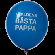 Ballonger Världens bästa pappa! 27,5cm 8st 30kr