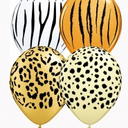 Ballonger Safari print 27,5cm 25p 85kr