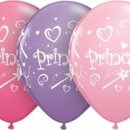 Ballonger Prinsessa 27,5cm 25st 149kr