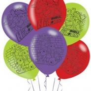 Ballonger TMNT(4 sidor) 27,5cm 6st 38kr