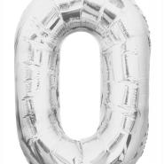 """Folieballong siffra """"0"""" 86cm 49kr"""