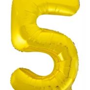 """Folieballong siffra """"5"""" 86cm 49kr"""