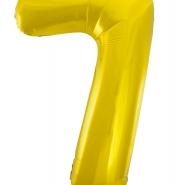 """Folieballong siffra """"7"""" 86cm 49kr"""