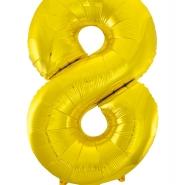 """Folieballong siffra """"8"""" 86cm 49kr"""