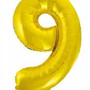 """Folieballong siffra """"9"""" 86cm 49kr"""