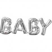 Baby silver airfill 22x66cm 49kr