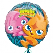 Folieballong Moshi Monsters 43cm 38kr