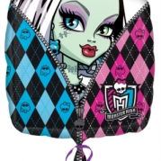 Folieballong Monster high 43cm 38kr