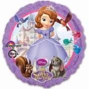 Folieballong prinsessan Sofia 43cm 38kr