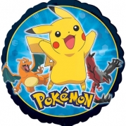 Folieballong Pokemon 43cm 38kr
