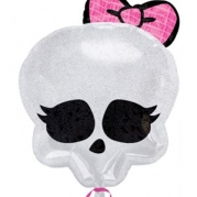 Folieballong Monster high skull 50x40cm 64kr
