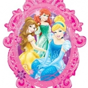 Folieballong Supershape Disney prinsessor 63x78cm 85kr