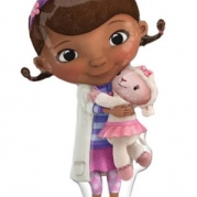 Folieballong Supershape Doc Mcstuffins 55x88cm 85kr
