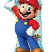 Folieballong Supershape Mario 55x83cm 85kr