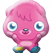 Folieballong Supershape Moshi Monsters 53x64cm  79kr