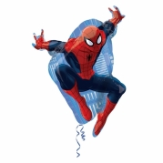 Folieballong Supershape Spiderman 43x73cm 85kr