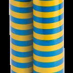 Serpentiner gulblå 2p 22kr