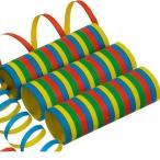 Serpentiner blandade färger 3p 13kr