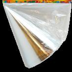 Partyhattar foil Silver 6p 25kr
