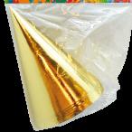 Partyhattar Foil gold 6p 25kr