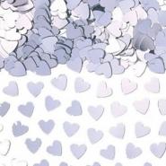 Konfetti silver hjärtan 14g 10kr