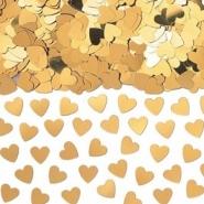 Konfetti guld hjärtan 14g 10kr