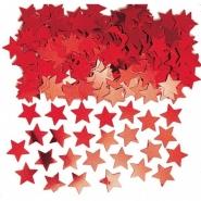 Konfetti röda stjärnor 14g 10kr