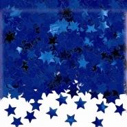 Konfetti blå stjärnor 14g 10kr