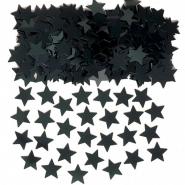 Konfetti svarta stjärnor 14g 10kr
