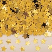 Konfetti guld stjärnor 14g 10kr