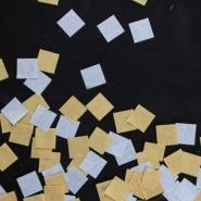 Konfetti papper guld silver 14,17g 12kr