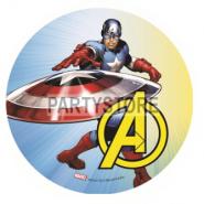 Tårtoblat Avengers (2) 21cm 59kr