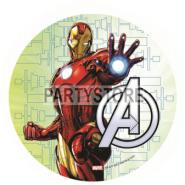 Tårtoblat Avengers (3) 21cm 59kr