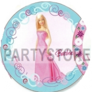 Tårtoblat Barbie (1) 21cm 59kr