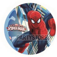 Tårtoblat Spiderman (3) 21cm 59kr