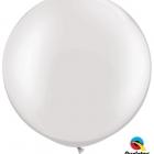 Jätteballonger 91cm 2st Pearl white 105kr