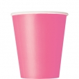 Pappersmuggar 266ml 14p Hot pink 25kr