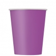 Pappersmuggar 266ml 8p Pretty purple 20kr