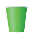 Pappersmuggar 266ml 8p Lime 20kr
