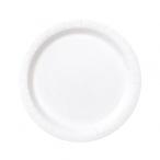 Papperstallrikar 17,1cm 8p Bright white 19kr