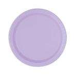 Papperstallrikar 17,1cm 8p Lavender 19kr
