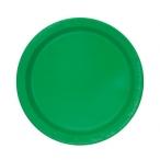 Papperstallrikar 17,1cm 8p Emerald 19kr