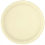 Papperstallrikar 22,9 cm 8p Ivory 25kr