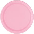 Papperstallrikar 22,9 cm 8p Lovely pink 25kr