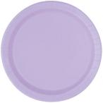 Papperstallrikar 22,9 cm 8p Lavender 25kr