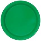 Papperstallrikar 22,9 cm 8p Emerald 25kr