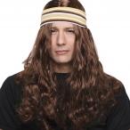 BESTÄLLNINGSVARA Peruk Hippie brown 149kr